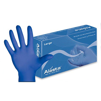 alasta nitrile medical gloves