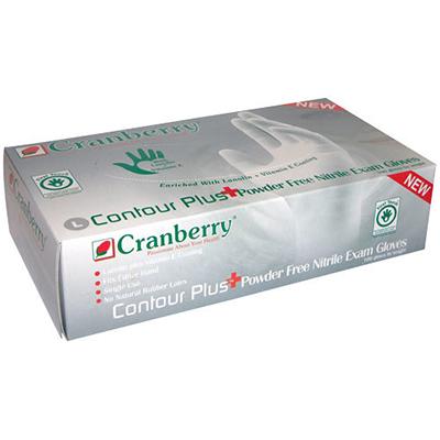 Cranberry Contour Plus  Nitrile Medical Gloves