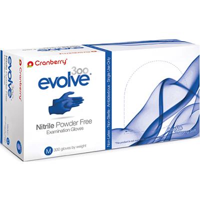 EVOLVE by Cranberry Nitrile Medical Gloves