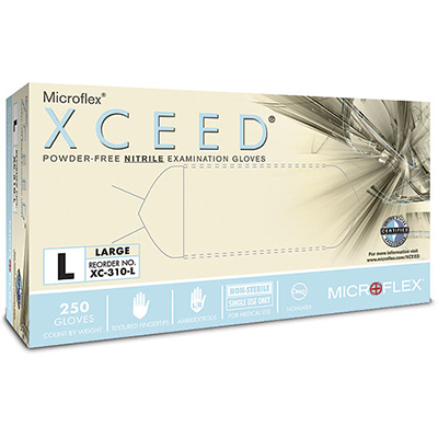 Xceed Nitrile Gloves