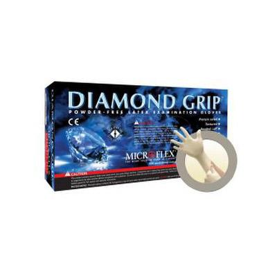 Diamond Grip Latex Medical Gloves