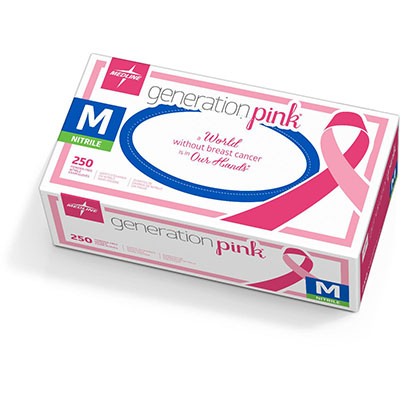 Generation Pink Synthetic Medical Gloves