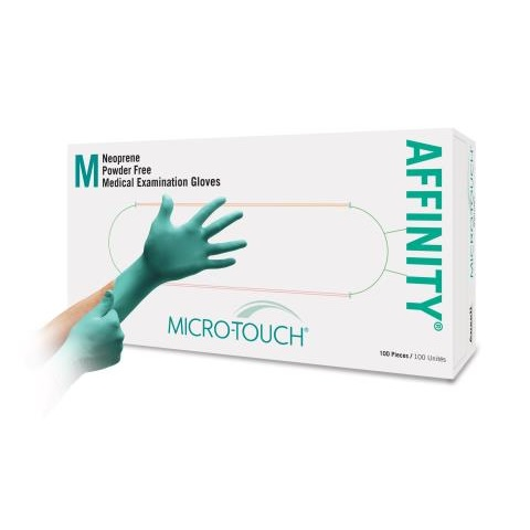 Microtouch Affinity Polychloroprene Medical Gloves